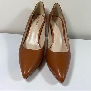 Cole Haan Idala brown heels